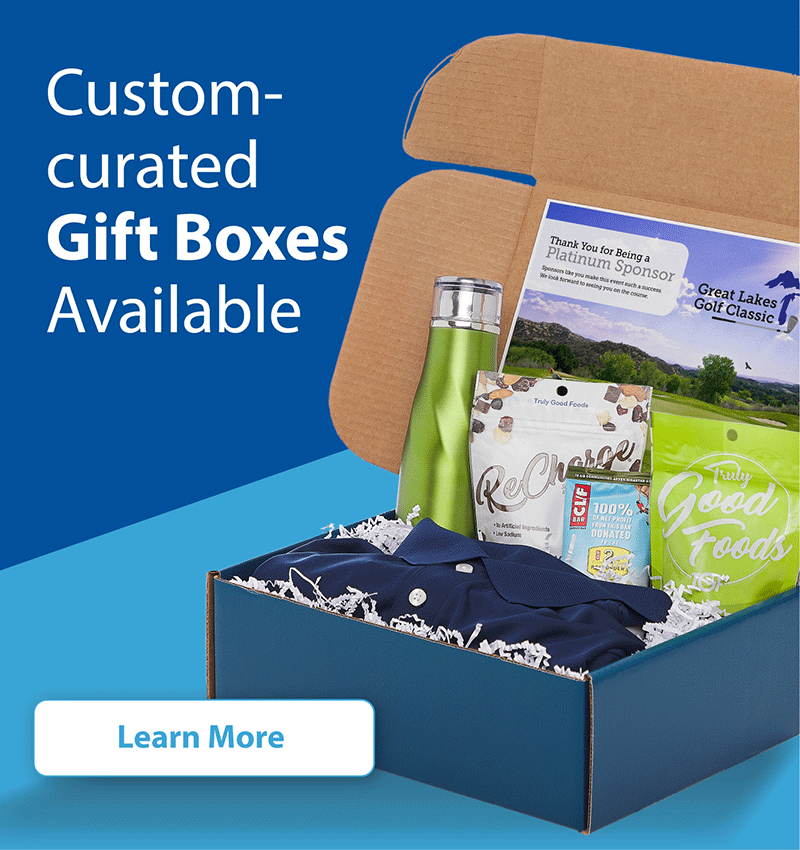 Custom-curated Gift Boxes available