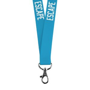 "3/4"" Neon Lanyard, Lobster Claw, 1-Color Imprint"