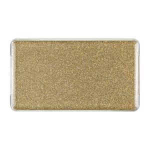 Medium Sparkle Gold Encore Badge, Blank