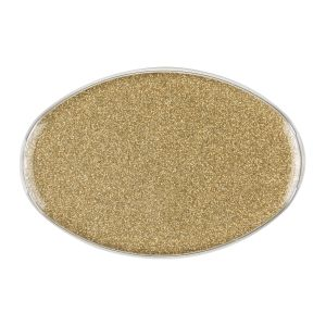 Oval Sparkle Gold Encore Badge, Blank