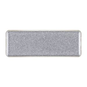 Small Sparkle Silver Encore Badge, Blank