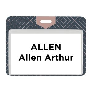 "4"" x 3"" Eco On-Site Event Pass, Plastic"