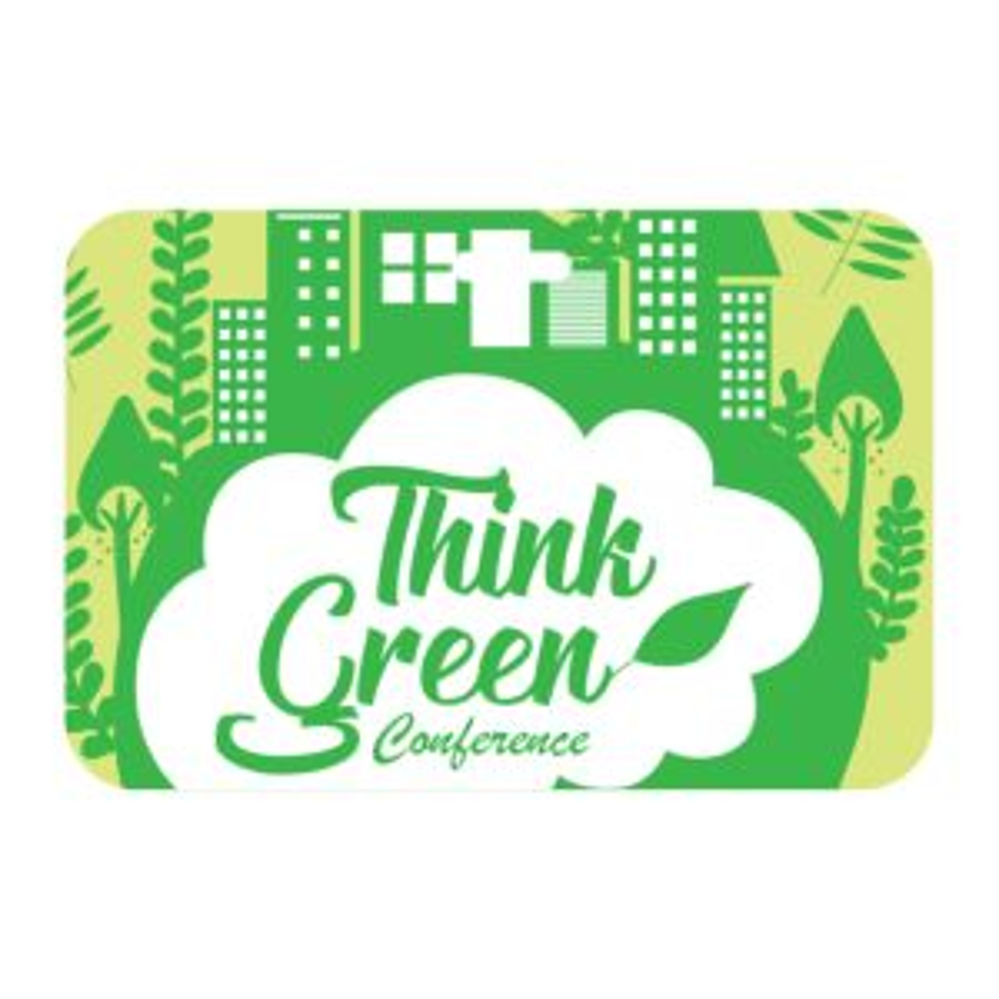 "3-1/2"" x 2-1/4"" Eco Event Pass, Plastic (Synthetic)"