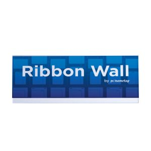 "16"" x 6"" Ribbon Wall Sign Holder"