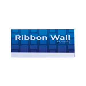 "8"" x 4"" Ribbon Wall Sign Holder"