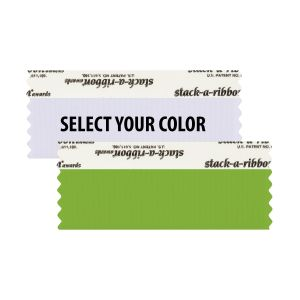 "4"" x 1-5/8"" Blank stack-a-ribbon®"
