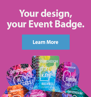 Your design, your Event Badge - Learn More
