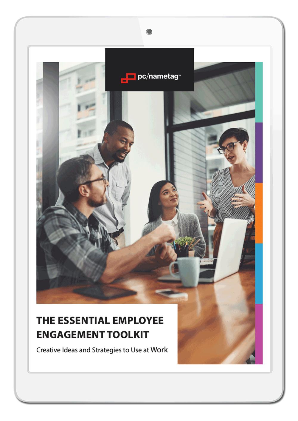 pc/nametag Employee Engagement Ebook