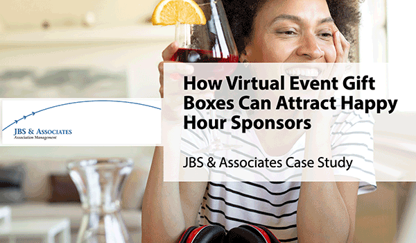 How virtual event gift boxes can attract happy hour sponsors