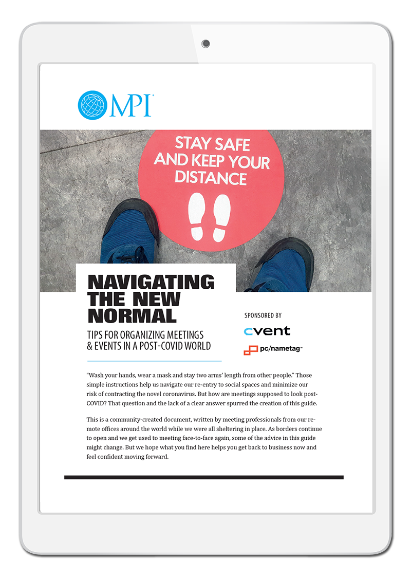 Navigating the New Normal in Events Ebook
