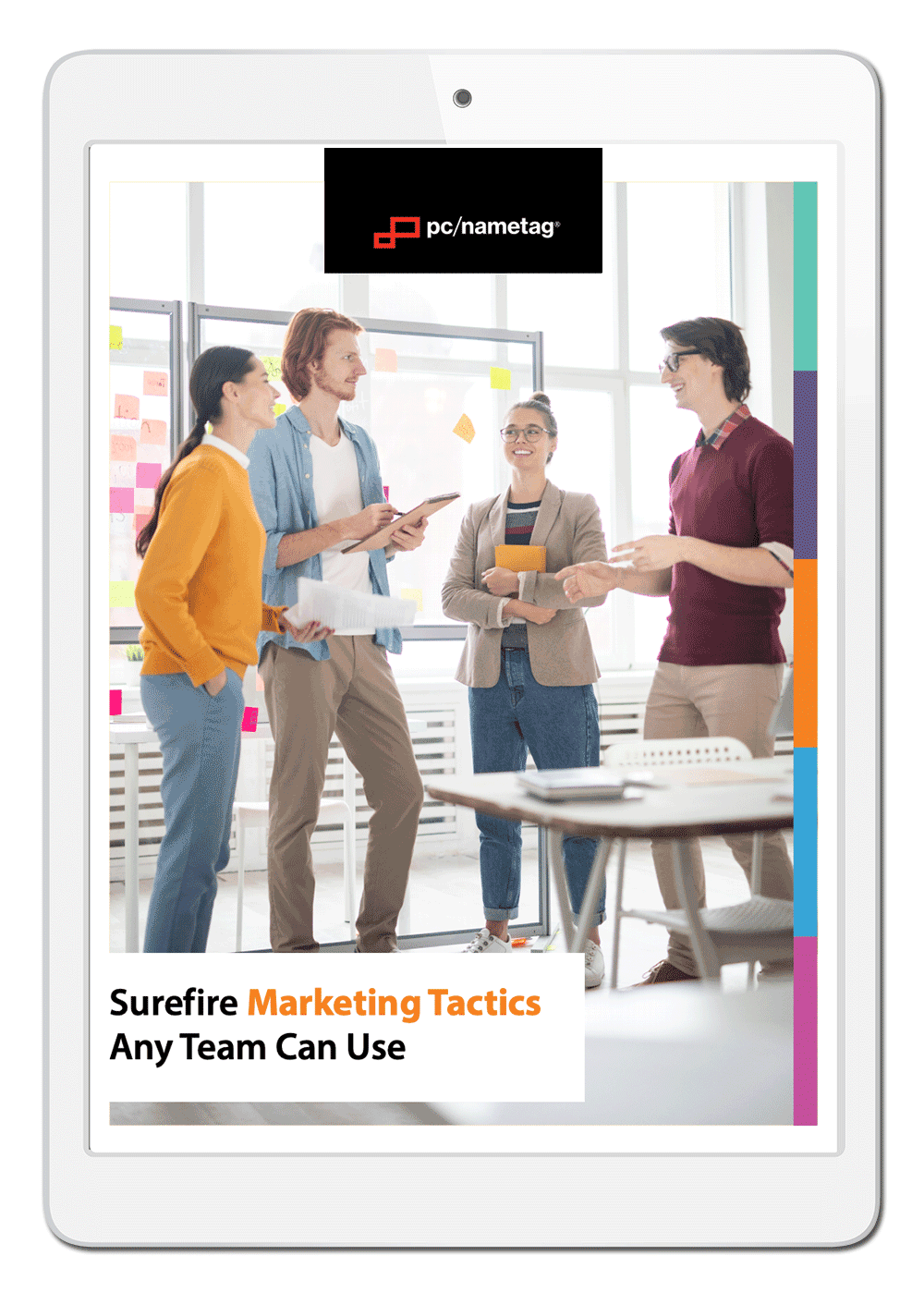 pc/nametag Marketing Tactics 101 Ebook