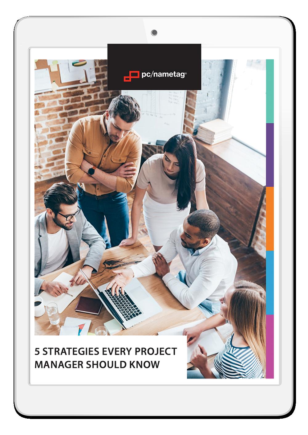 pc/nametag Project Management Ebook