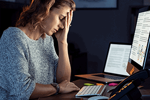 How to manage work stress and burnout blog post