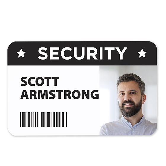 ID Security Badge