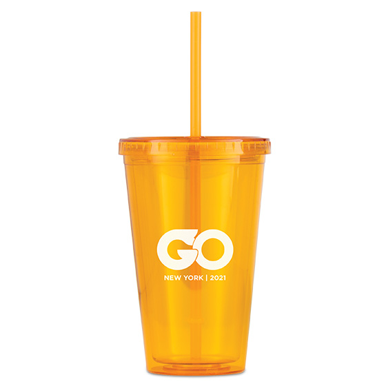Cyclone 16-oz. Tumbler with Straw