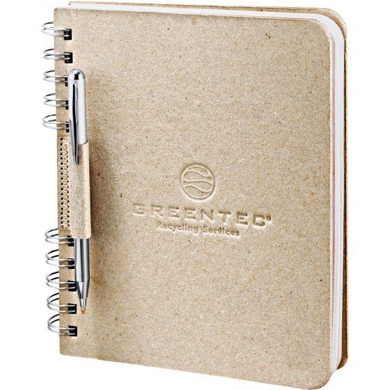 Recycled Cardboard Spiral JournalBook