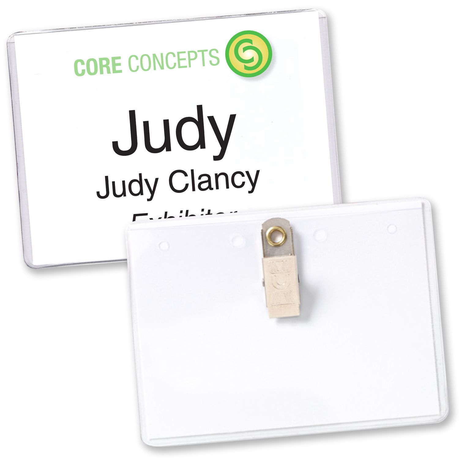 In-Stock Name Tag Holders