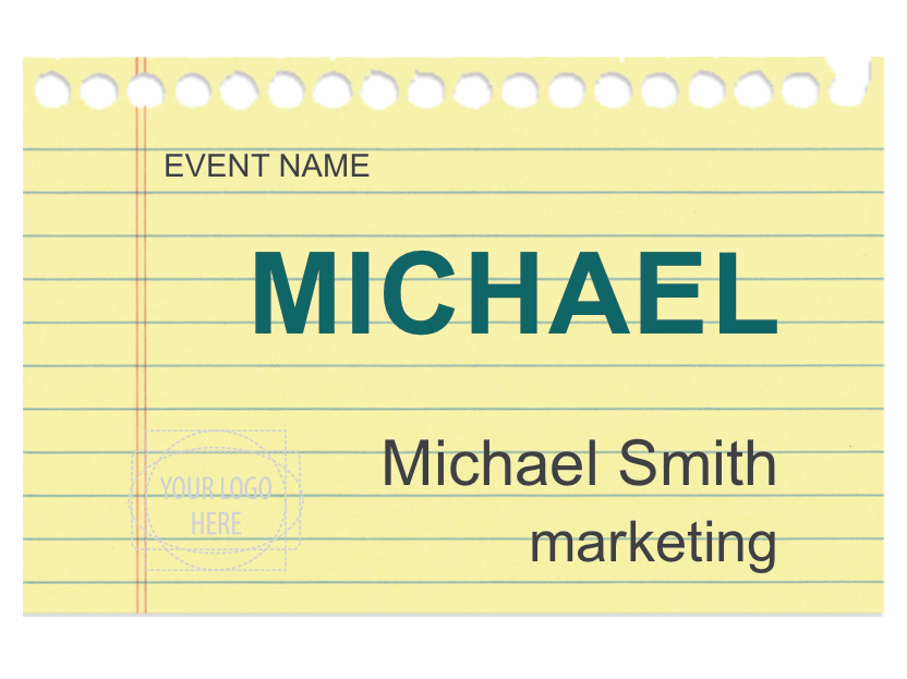 Free Name Tag Designs Designed For Microsoft Word Pcnametag - Free name tag templates