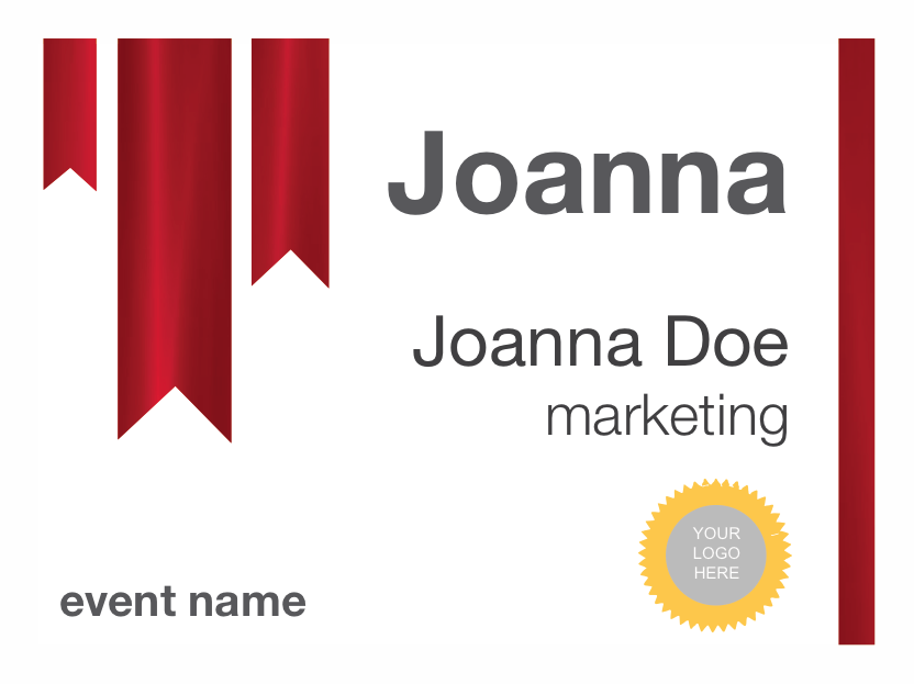 name badge label template - free name tag designs designed for microsoft word pc