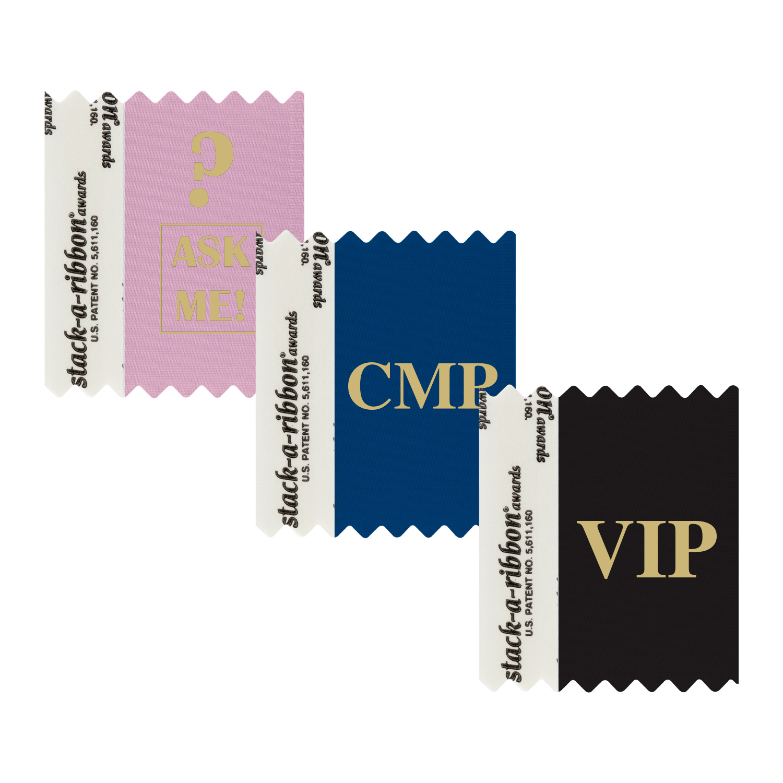 Name Badge Ribbons | Customized Ribbons | pc/nametag