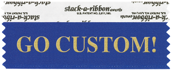 Create your own custom stack-a-ribbon