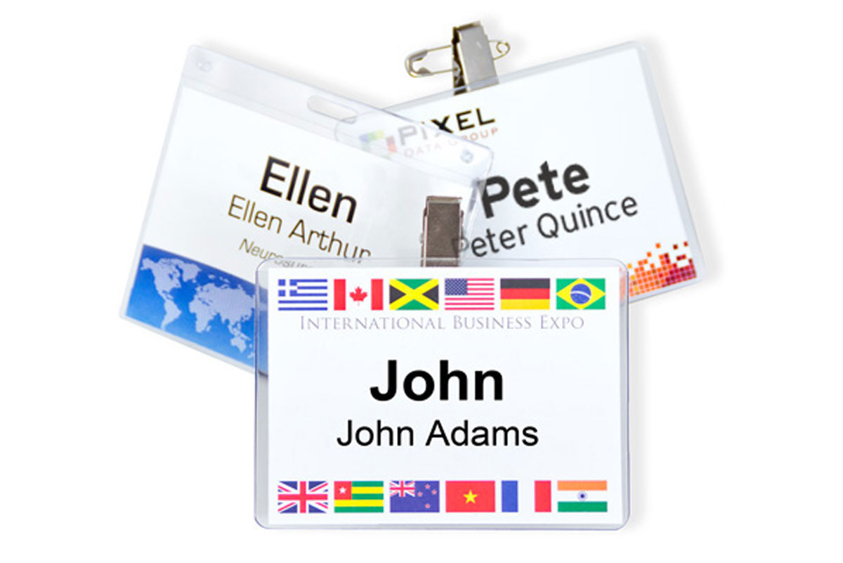 How to Make a Name Tag | Meeting Planner's Guide | pc/nametag
