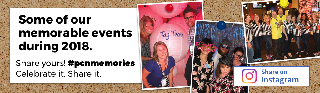 Some of our memorable events during 2018. Share Yours! #pcnmemories Celebrate it. Share it.